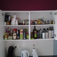 De temps en temps, tout sortir de l'armoire, faire des tris, réorganiser…