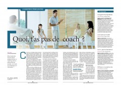 La Libre Belgique - Coaching - 2016 03 19 - Alors on range - page 1 de 2